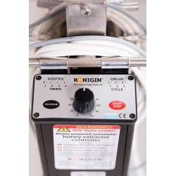 Miodarka kasetowa automatyczna - 8 kaset -16x Wielkopolska 360x180mm, 3/4 langstroth  - średnica 1250mm