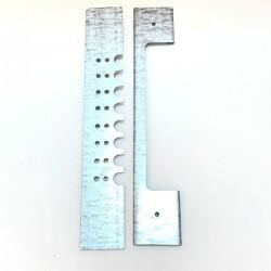 Zasuwka metalowa na wlotek ula (200mm)