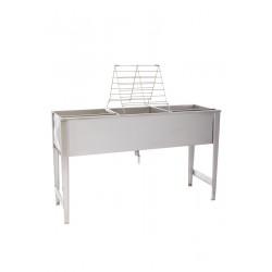 Stół do odsklepiania ramek dwustanowiskowy UNIWERSALNY 1500 mm
