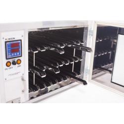 Dekrystalizator z funkcją inkubatora do hodowli matek pszczelich (300 klatek) - Stal nierdzewna