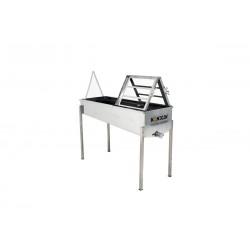 Stół do odsklepiania 1250 mm z pokrywą nierdzewną