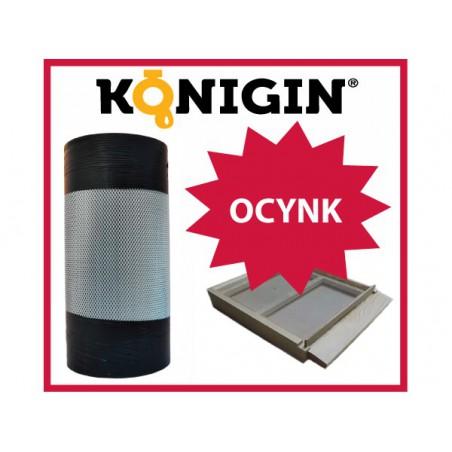 Siatka ocynk, szerokość 420mm, grubość 0.5mm,1 m.b.